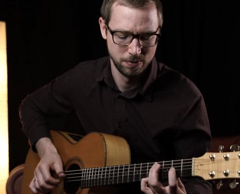 Simon Wahl in den 22springroad Studios am Chiemsee