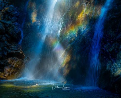 Wasserwandl Wasserfall bei Bergen