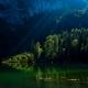 Frillensee bei Inzell im Spätsommer