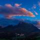 Watzmann, Hochkalter und Reiteralp - Sonnenuntergang